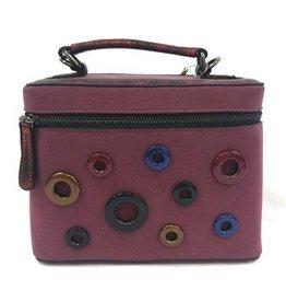 David Jones David Jones Fantasy Handbag Plum 5286-2pl