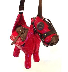 Fantasy bag Donkey red