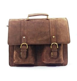 Leather business bag HAV600
