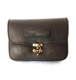 Hillburry leather belt bag black 3156