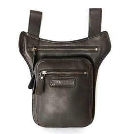 HillBurry Hillburry leather belt bag black 6186