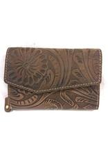 HillBurry Leather wallets - HillBurry Leather Wallet 1309F-dbr