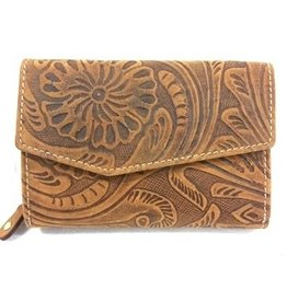 Leather Wallet HillBurry 13092F-LBR