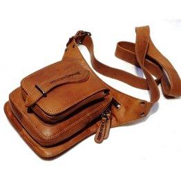 HillBurry Leather Crossbody Bag HillBurry 3261cg