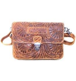 Hillburry leather shoulderbag 3279f-br