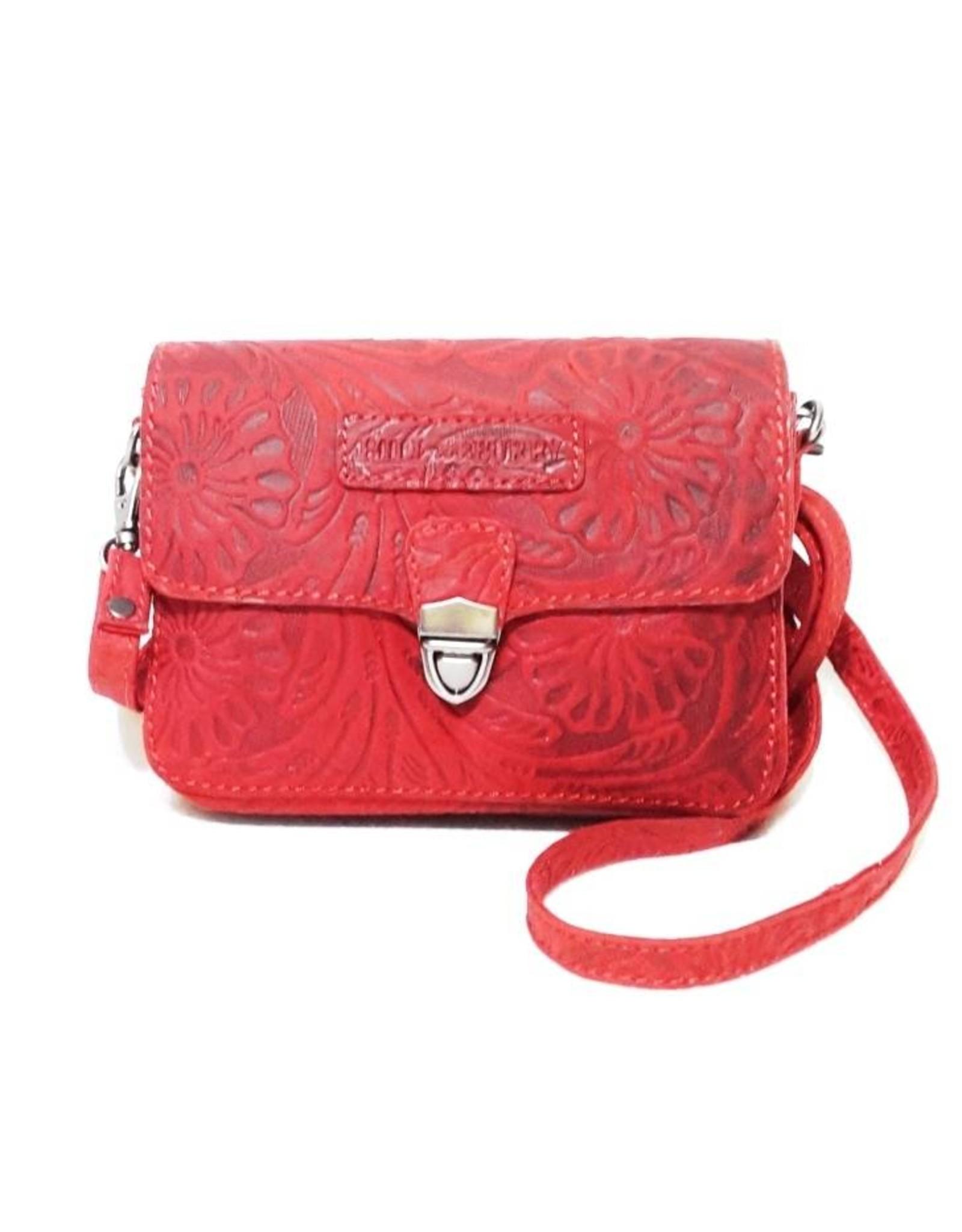 HillBurry Leather bags - Hillburry leather shoulder bag 3279f-rd