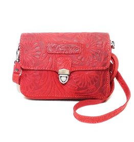 HillBurry Hillburry leather shoulder bag 3279f-rd