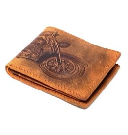 Sold out - Hillburry leather wallet Moto 6403