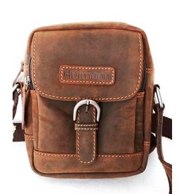 Huttman Hütmann leather shoulder bag brown ht05