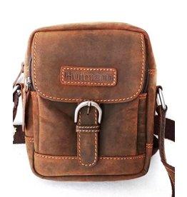 Huttman Sold out - Hütmann leather shoulder bag brown ht05