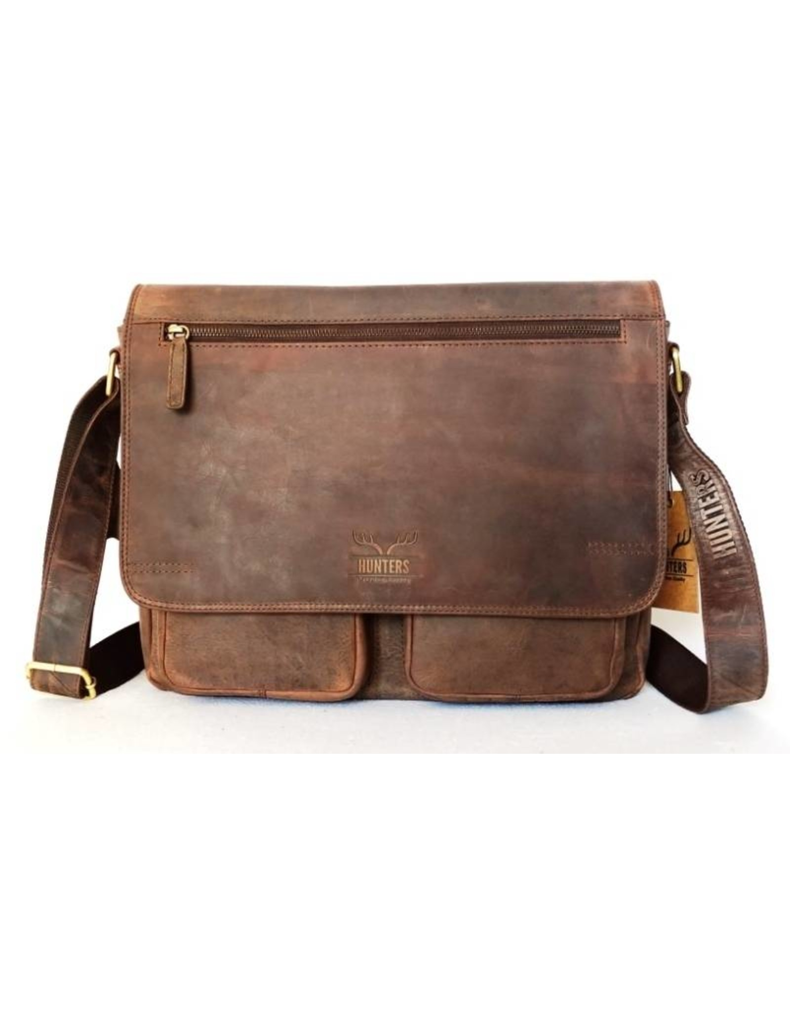 Hunters Leather bags - Hunters leather laptop bag (Buffalo leather)