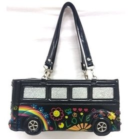 LYDC London Fantasy Bag Flower Power Bus