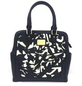 LYDC London Handbag Birds L9116bk