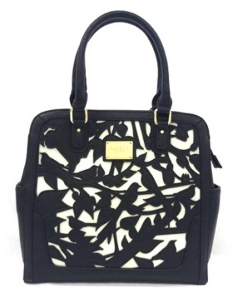 fashion design special buy shop for original LYDC London Fantasy bags - LYDC London Handbag Birds L9116bk