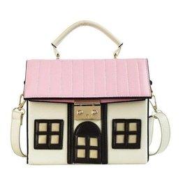Uitverkocht - Fantasy tas Huis wit