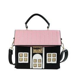 Fantasy tas Huis zwart