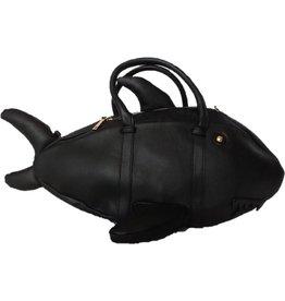 Fantasy tas Haai zwart