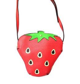 Laura Vita Laura Vita Fantasy Bag Strawberry