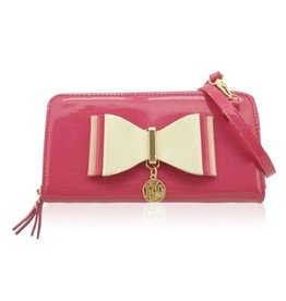 Wallet Shoulder Bag with bow LYDC London