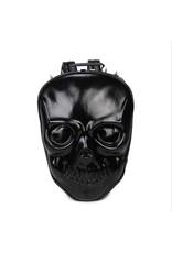 Dark Desire Gothic tassen Steampunk tassen - Dark Desire 3D skull rugtas