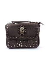 Dark Desire Gothic bags Steampunk bags - Gothic schoolbag with skull