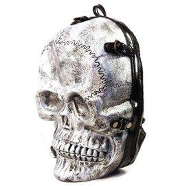 Dark Desire Dark Desire silver backpack skull 3D
