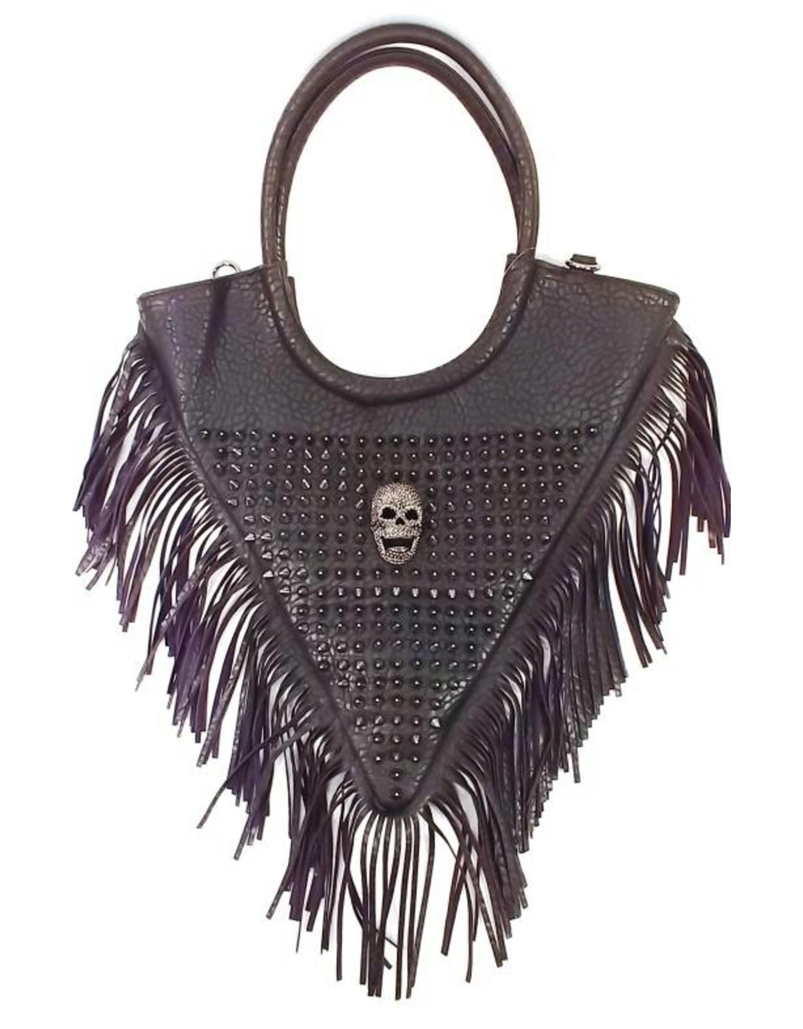 Dark Desire Gothic bags Steampunk bags - Gothic shoulder bag Triangle