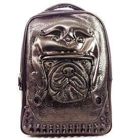 Dark Desire Dark Desire Gothic 3D Backpack Bulldog black