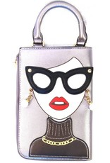 Trukado Fantasy bags - Fantasy bag The Face grey