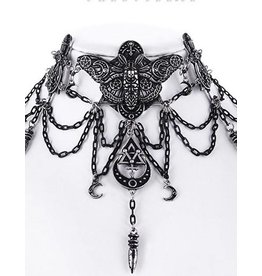 Restyle Occult Moth Choker Restyle