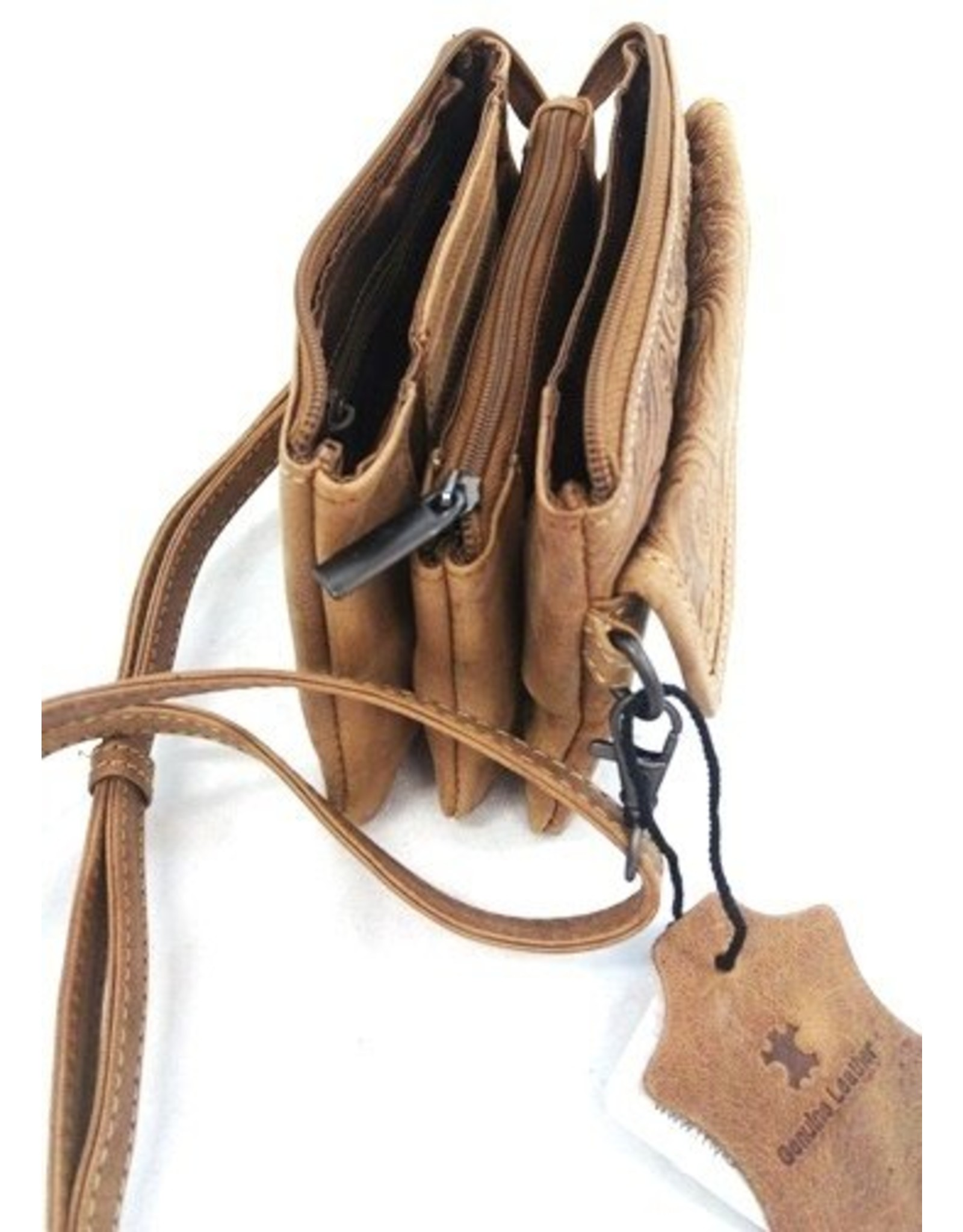 Beasy Bag Leren tassen - Beasy Bag Leren Damestas Naturel