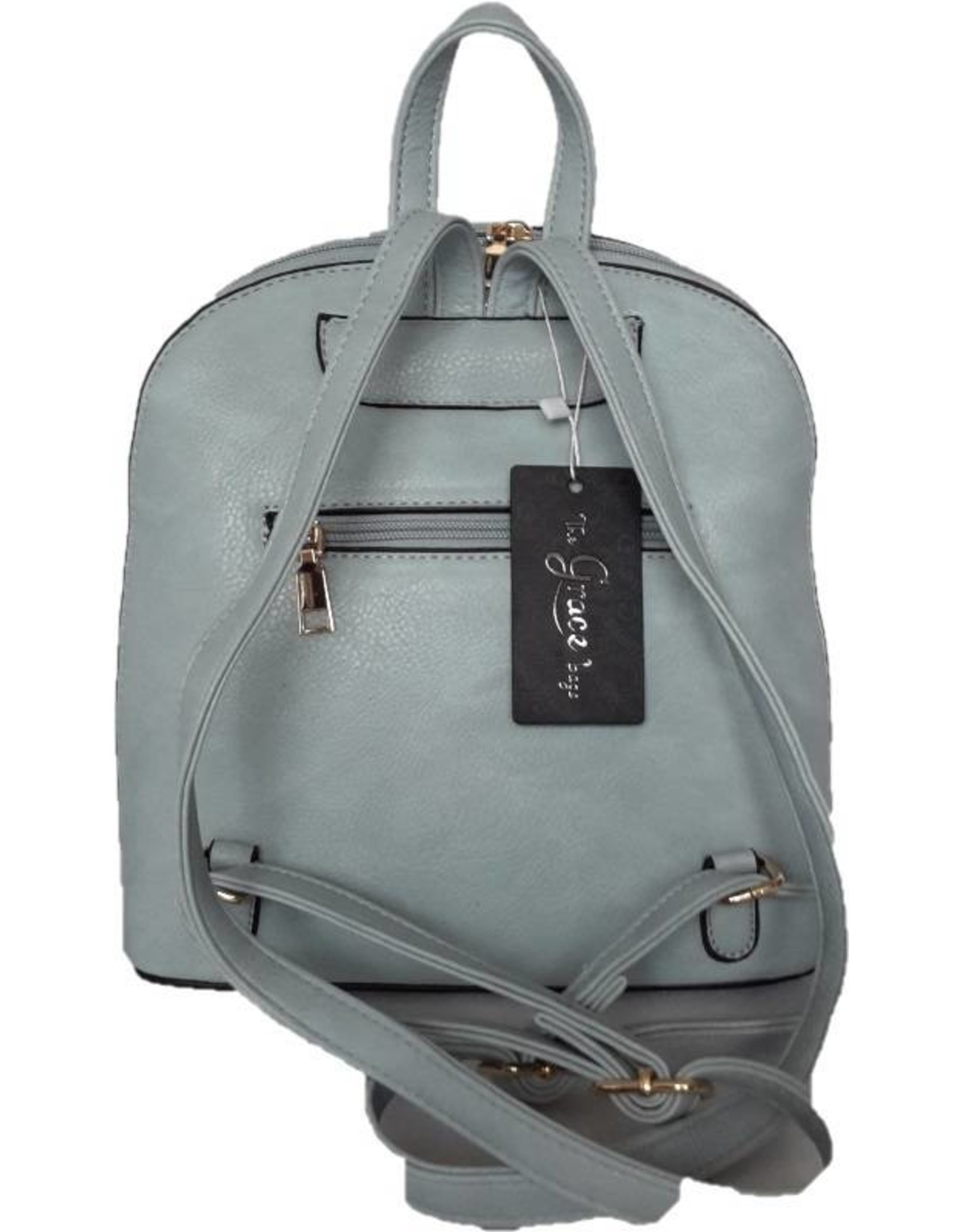 Trukado Backpacks and fanny packs - Fashion backpack with holographic accents pink