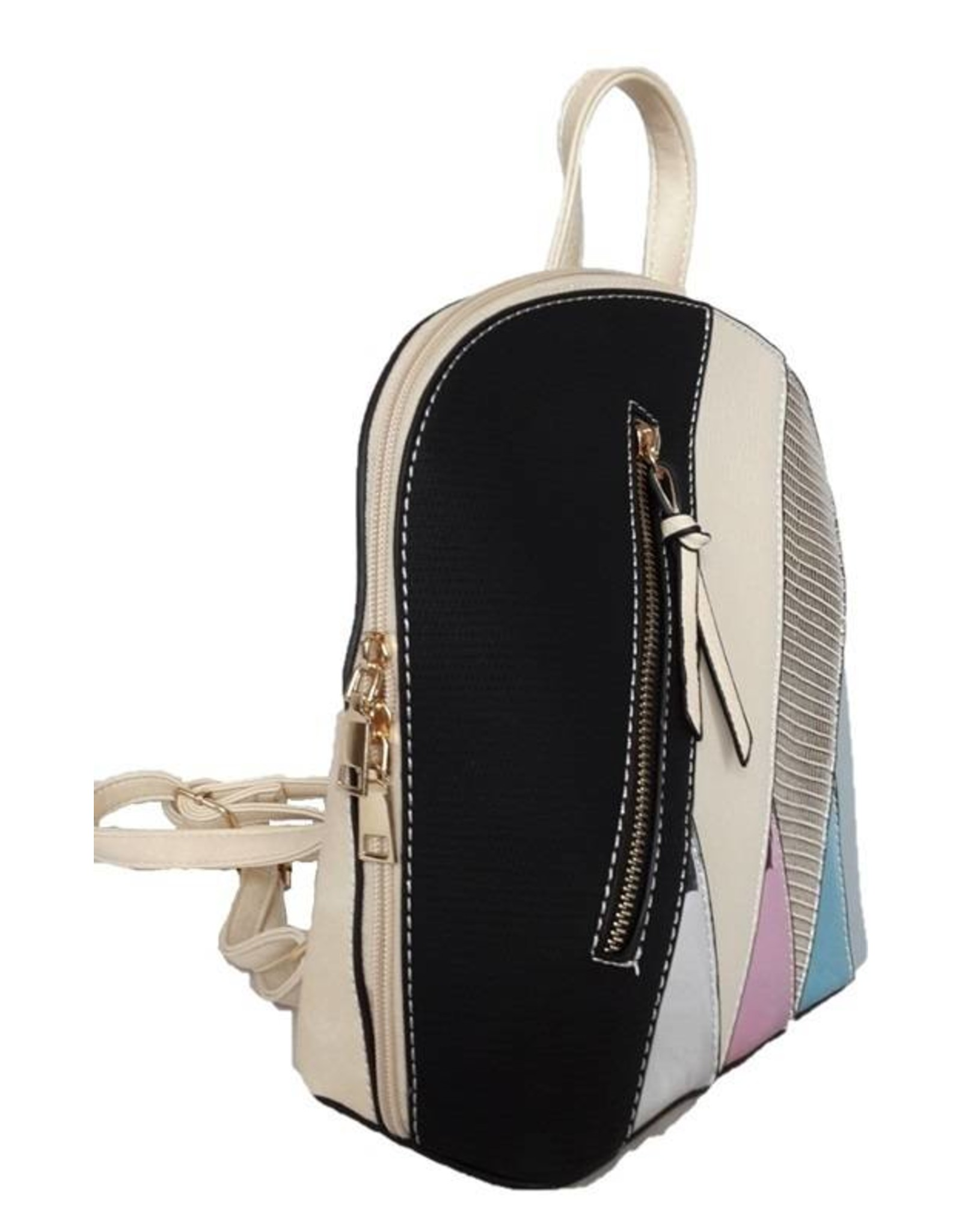Trukado Backpacks and fanny packs - Fashion backpack with holographic accents black