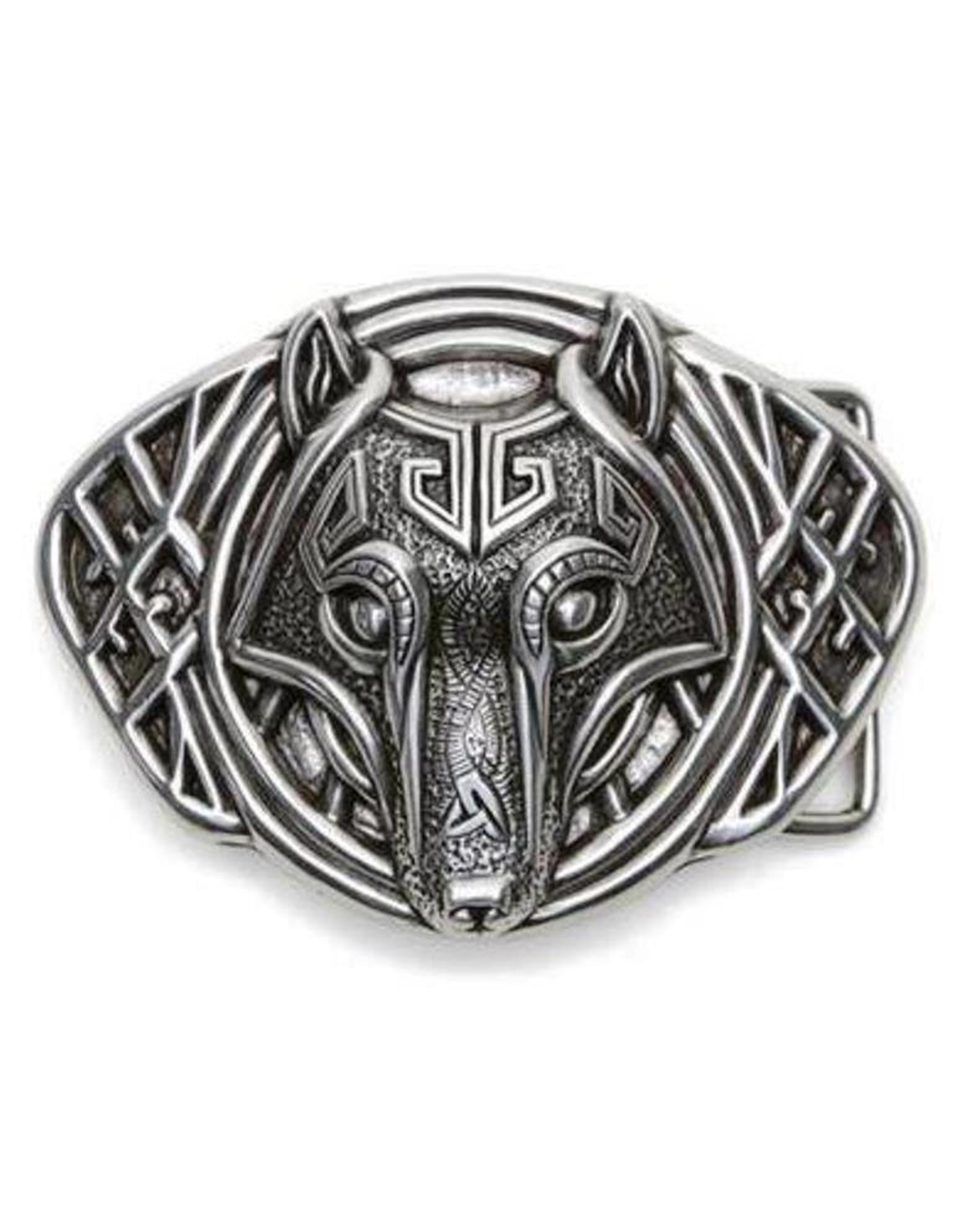 """Acco Leather belts and buckles -Buckle """"Carnivora"""""""