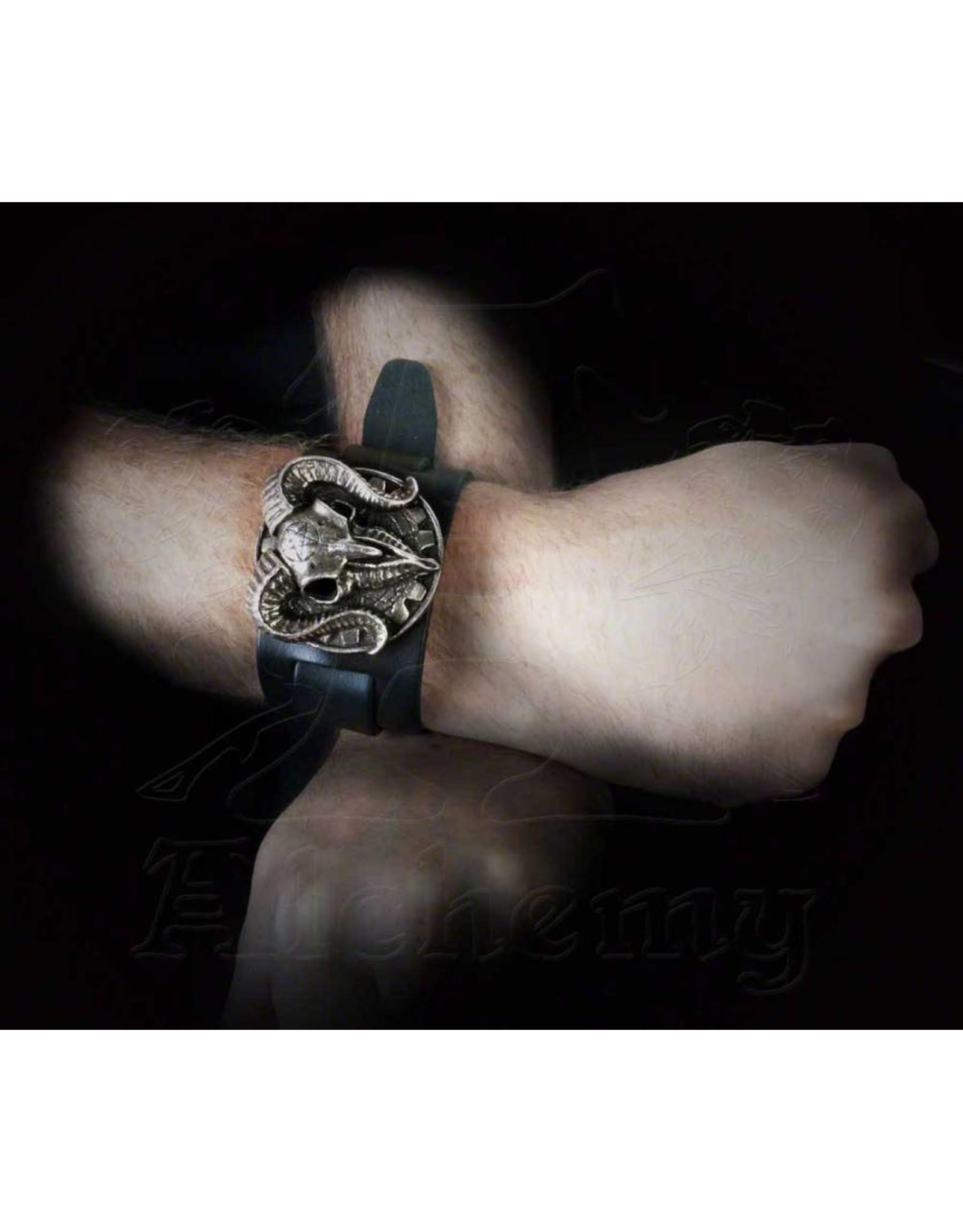 Alchemy Sieraden - Ramskop armband Gears of Aiwass - Alchemy