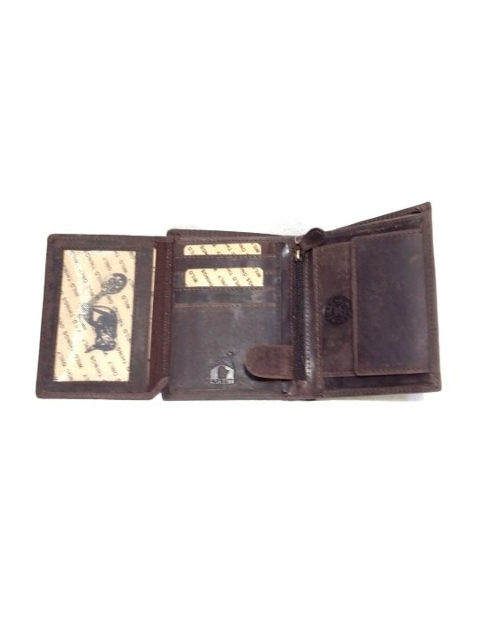 Trukado Leather wallets - Leather Wallet with Bike