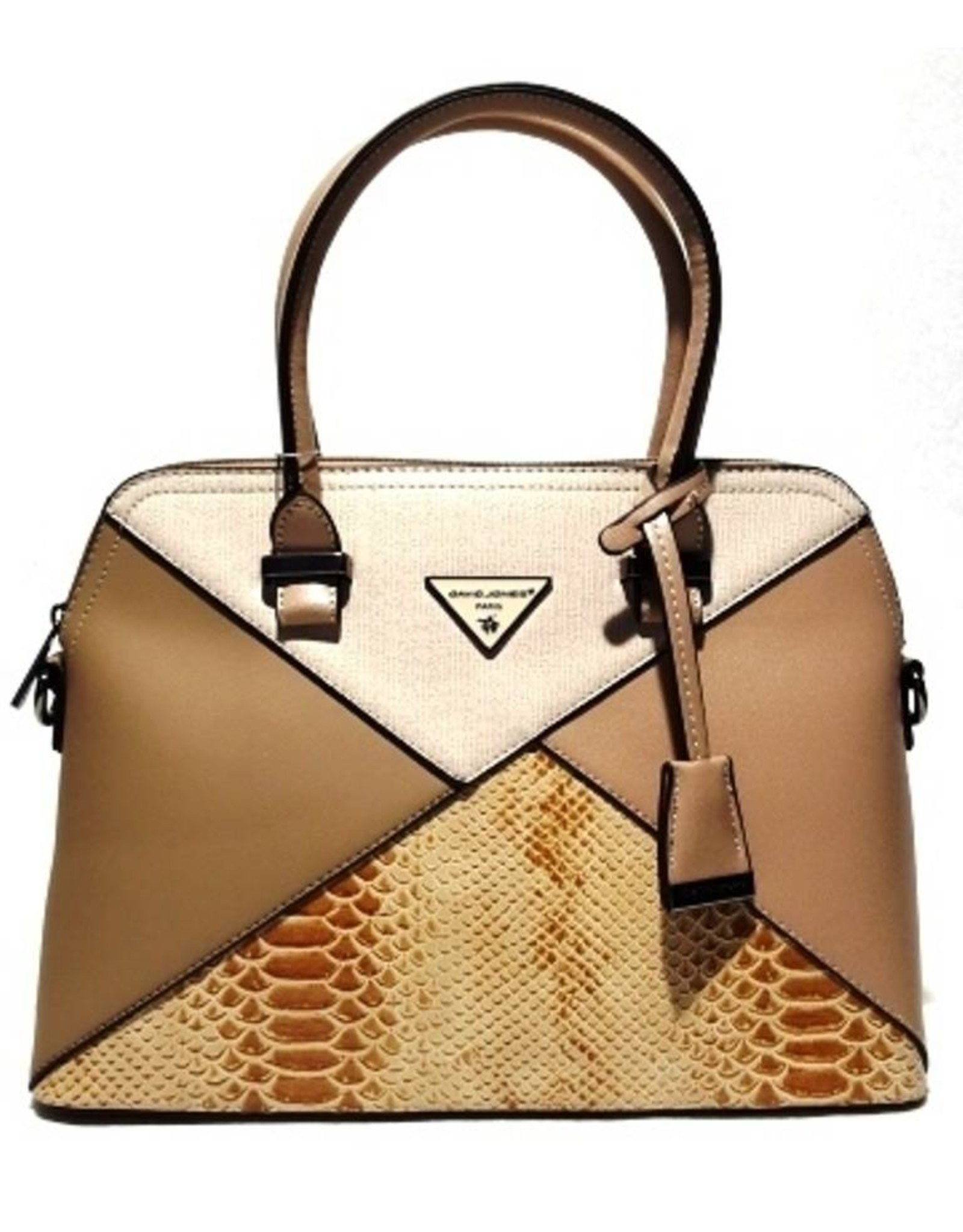 David Jones Handbags - David Jones HandBag Camel 5020-1ca