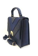 David Jones Handbags - David Jones Handbag Blue 5289-1bl