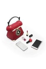 Magic Bags Fantasy tassen - Retro Telefoon tas rood