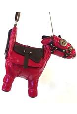 Fantasy tassen - Vintage tassen - Fantasy tas Ezel rood
