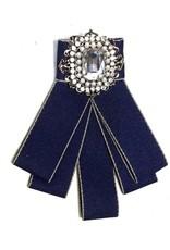 Gothic Steampunk accessoires - Gothic Steampunk Broche Blauw