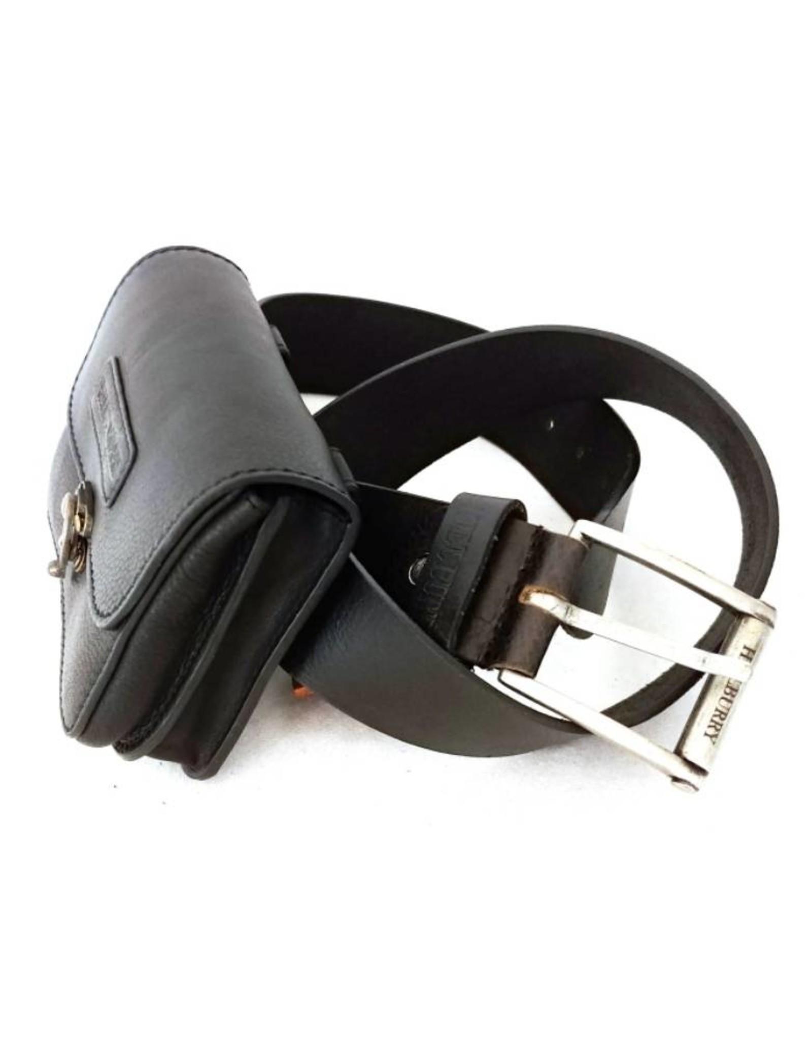 HillBurry Leather bags - Hillburry leather belt bag black 3156