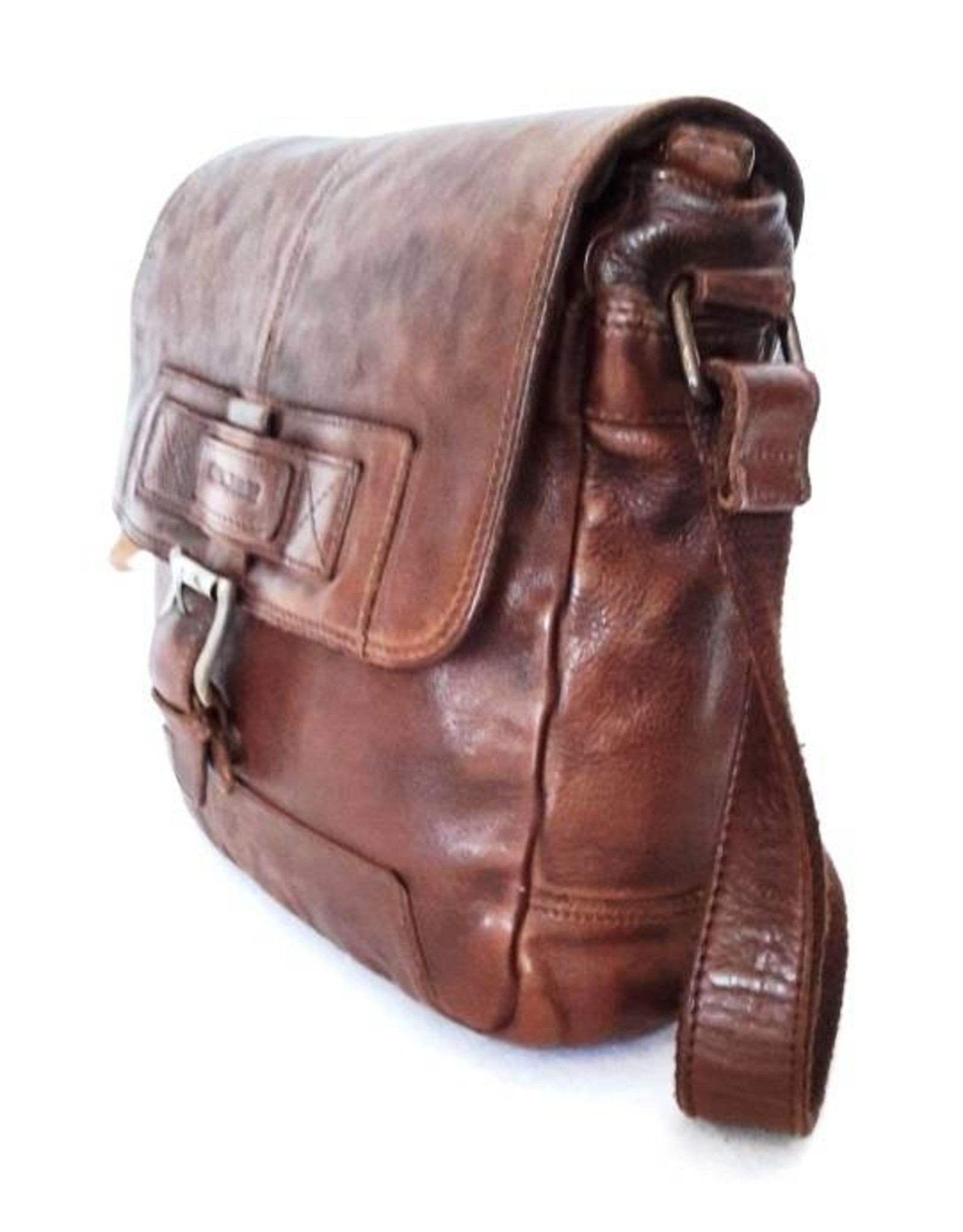 HillBurry Leather bags - Hillburry leather shoulder bag brown