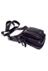 HillBurry Leather bags - HillBurry Leather Crossbody Bag Black