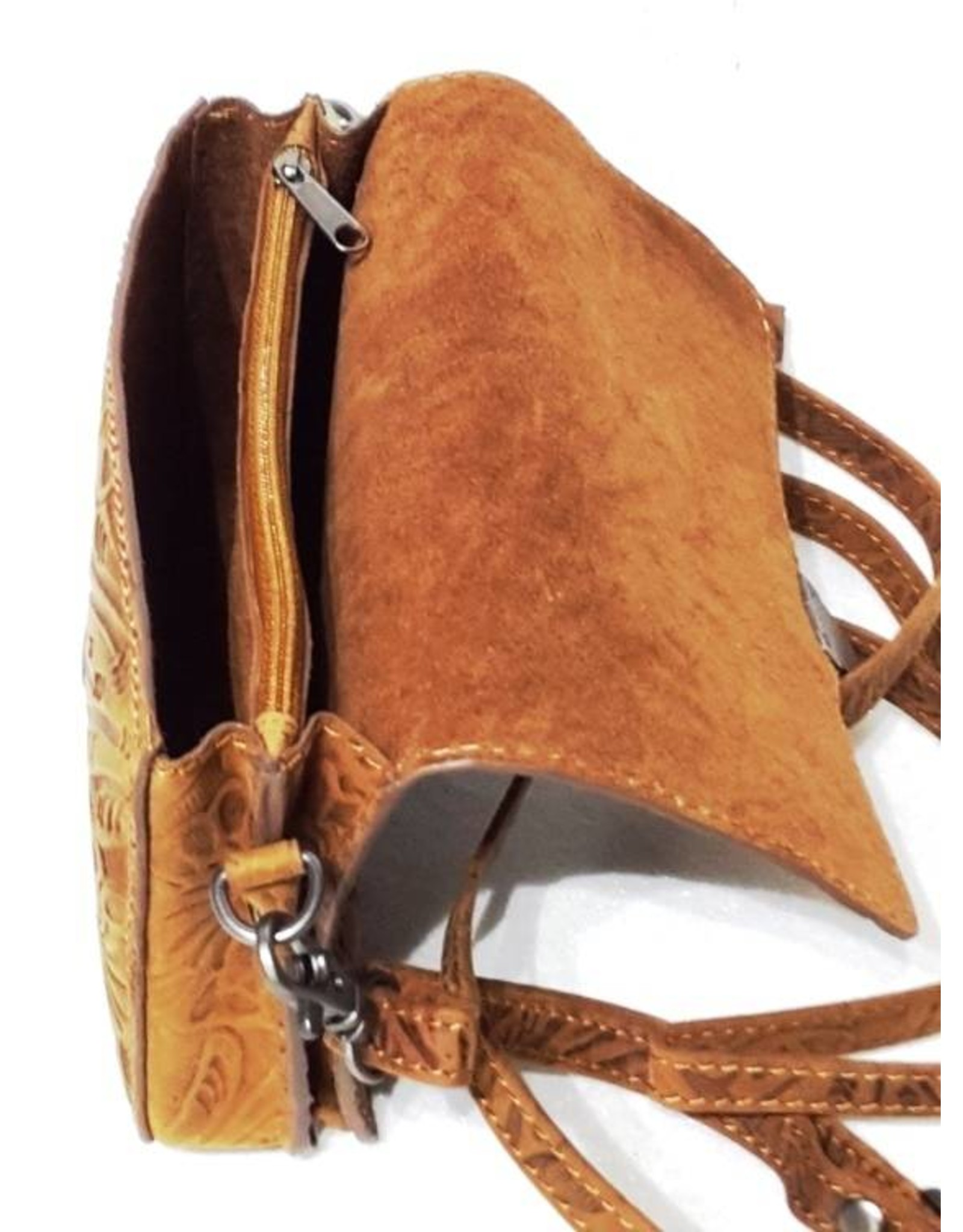 HillBurry Leather bags - Hillburry leather shoulderbag 3279f-ta