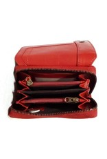HillBurry Leather wallets - Hillburry leather wallet red 3698rd