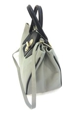Kevim Leather bags - Kevim Leather Hand bag Grey 1602
