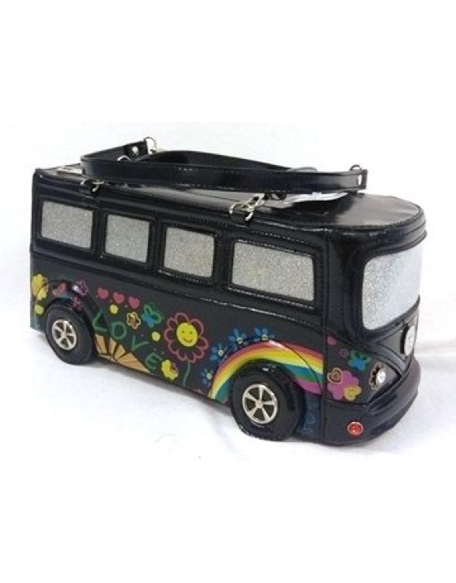 LYDC London Fantasy tassen - Fantasy Tas Flower Power Bus LYDC London K006