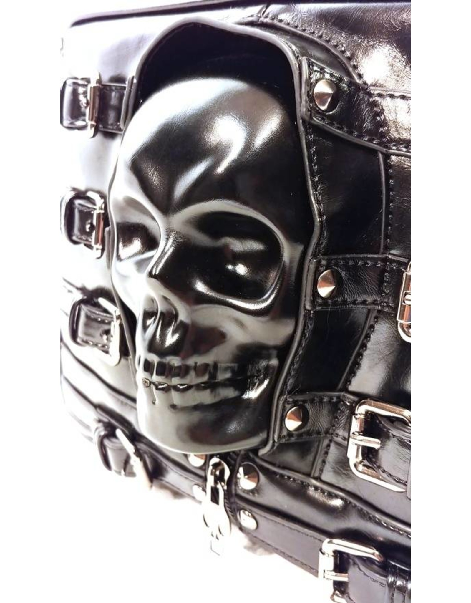 Dark Desire Gothic bags Steampunk bags - Dark Desire gothic shoulder bag 3d skull