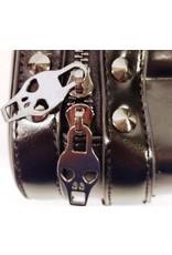 Dark Desire Gothic tassen Steampunk tassen - Gothic 3D Skull riemtas